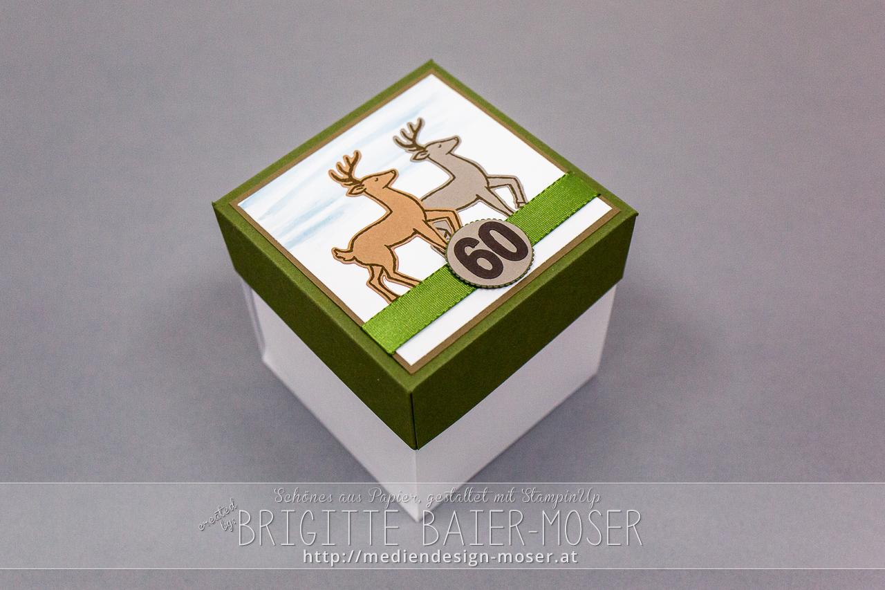 Explosionsbox mit Hochstand, passend für Jäger/in – Geschenke Shop ...