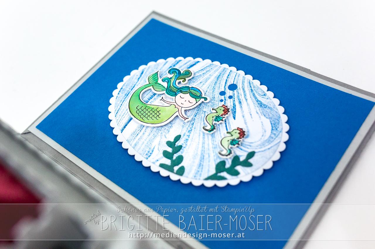 """Meerjungfrau und Seepferdchen - Stempelset """"Zauberhafter Tag"""" von Stampin'Up!"""