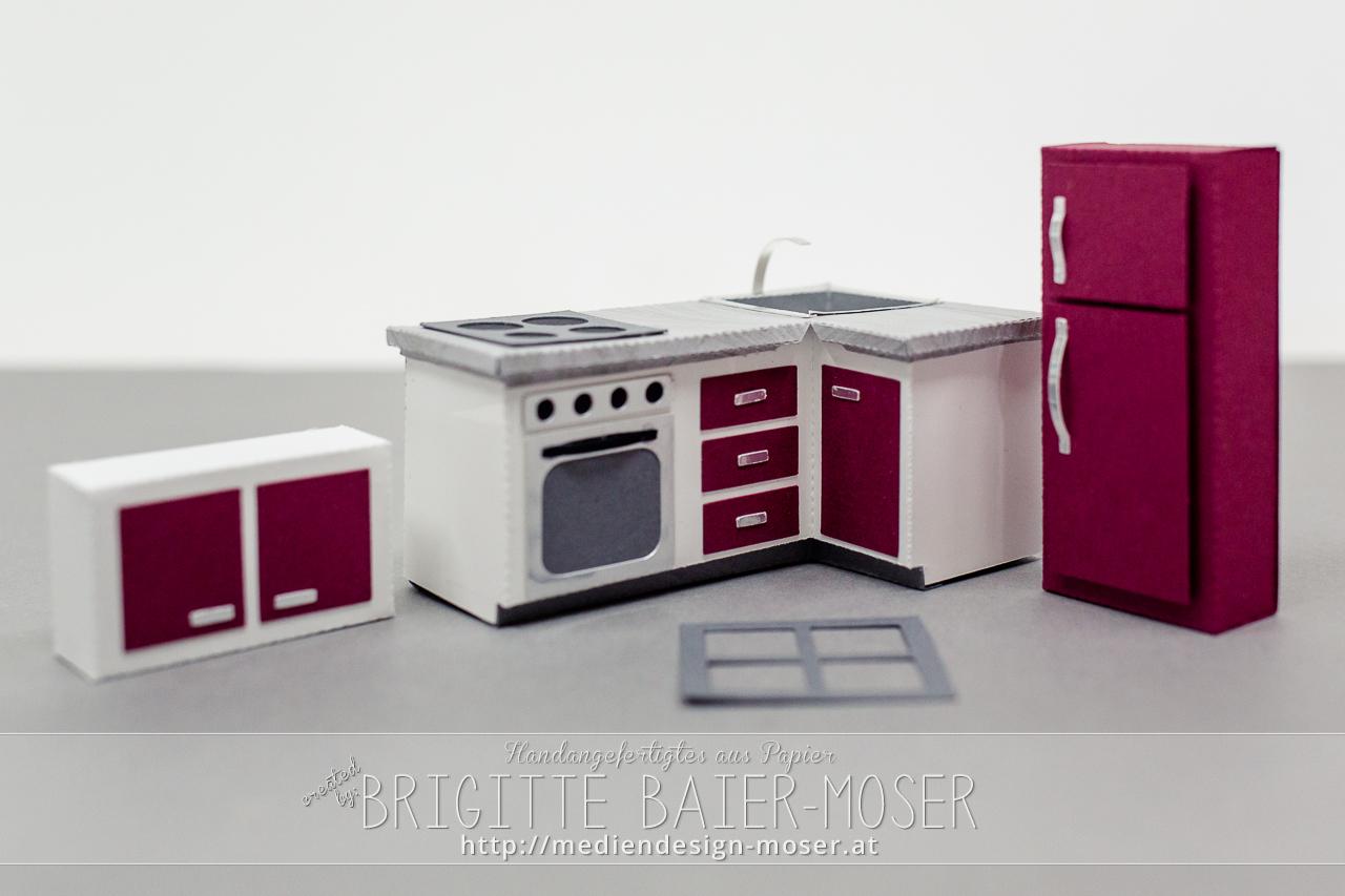 Küchenmöbel mit Schneidplotter